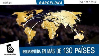 Camisetas de Futbol baratas: Gala de Premios de LaLiga 2015