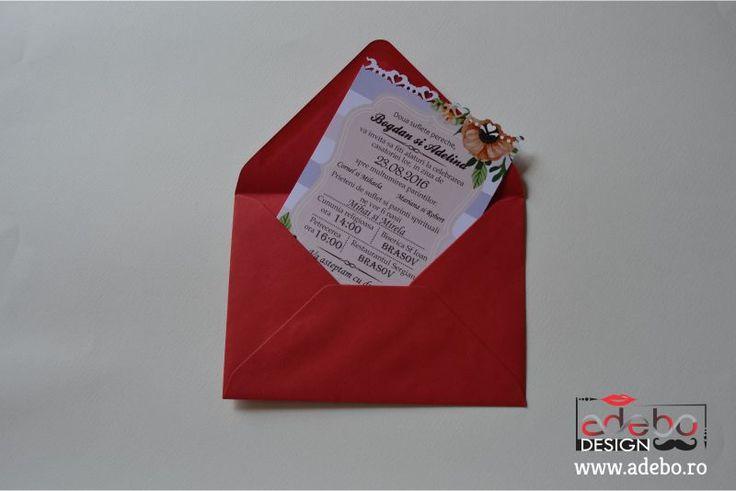 Invitatie nunta Serenity Quartz - Realizam invitatii de nunta personalizate, cu grafica adaptata cerintelor dumneavoastra.