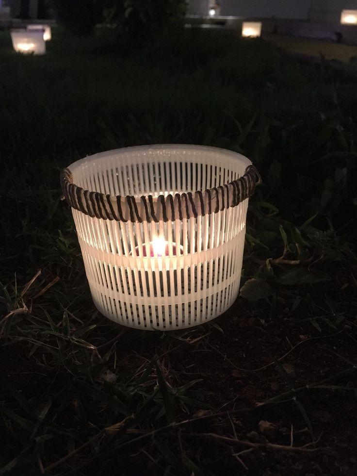 #lantern #garden #outdoor #cheese #canapa #light #flecodesign