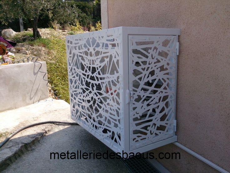 Cache compresseur de pompe à chaleur jpg Jardin Pinterest - installation d une climatisation maison