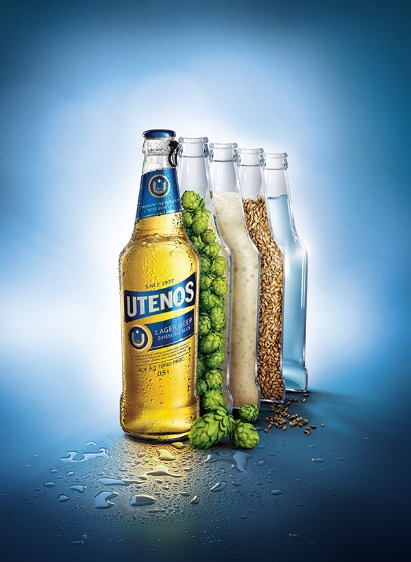 I thought this was an awesome Ad because it shows the ingredients of the beer in the Ad which I thought was neat.