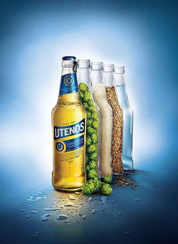 """Beer """"Utena"""" on Behance"""
