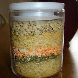 Lentilles, riz et protéines végétales texturées - Recettes Allrecipes Québec