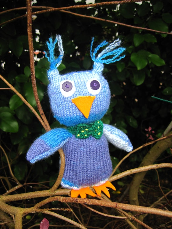 Ozwin the Owl by BagsofCuriosity on Etsy, £1.00