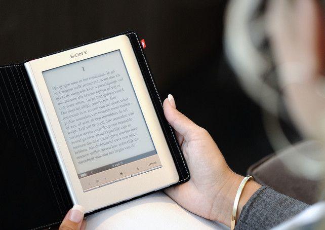 Verkoop van e-books in eerste kwartaal met 11 procent gestegen.