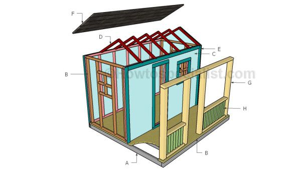 Free Playhouse Plans Howtospecialist How To Build