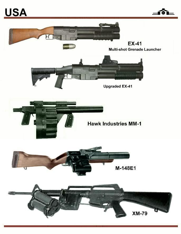 Modernized EX-41 Grenade Launcher