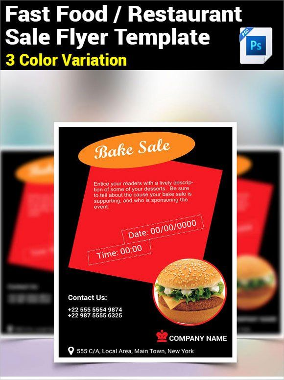 For Sale Flyer Template Unique 21 Bake Sale Flyers Templates Publisher Psd Ms Word Bake Sale Flyer Flyer Template Sale Flyer