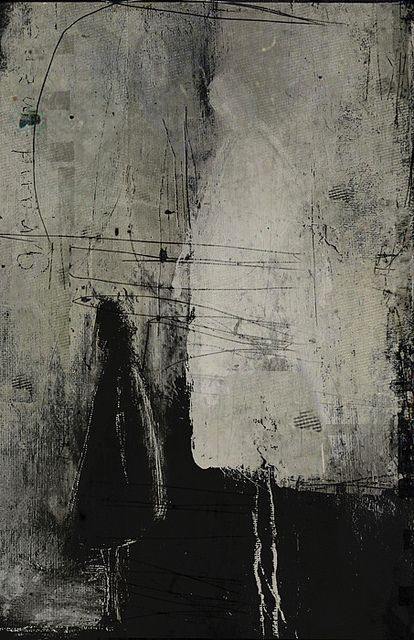 Linda Vachon ...humm I see two people ( mom and child ?! ) I wonder what the artist was thinking ... #abstractart