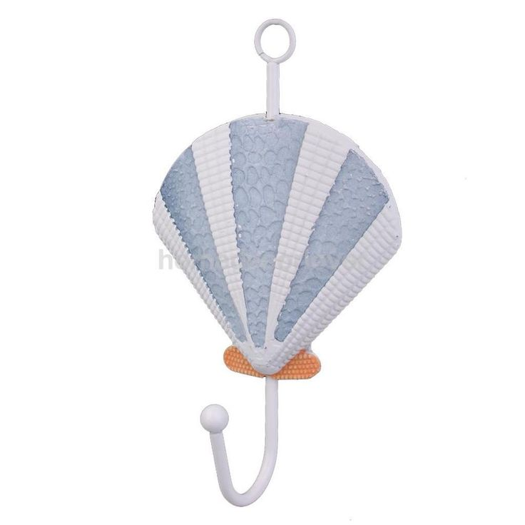 Nautical Seashell Key Coat Bag Bathroom Towel Hook Holder