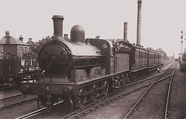 In 1848, the North Staffordshire Railway Company opened a line from Crewe to Derby, with a branch line from Uttoxeter which connected Tutbury and Burton. A small passenger train known affectionately as the Tutbury Jinny, was a popular sight at the old Burton station.  It operated a push-pull service between the two stations.