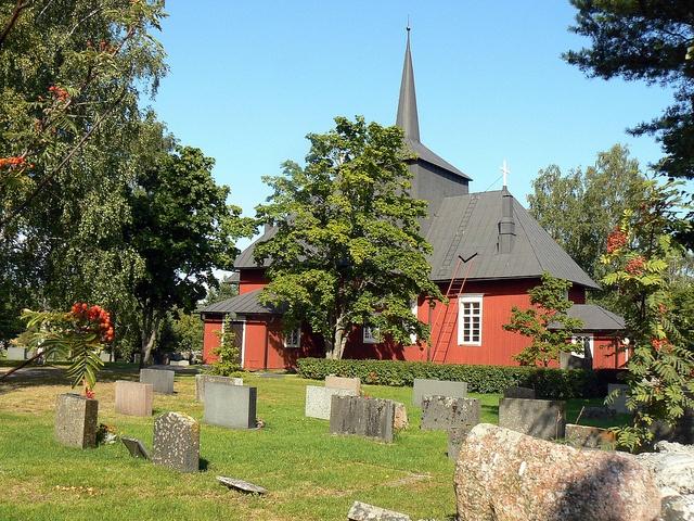 Church at Hiittinen | Flickr