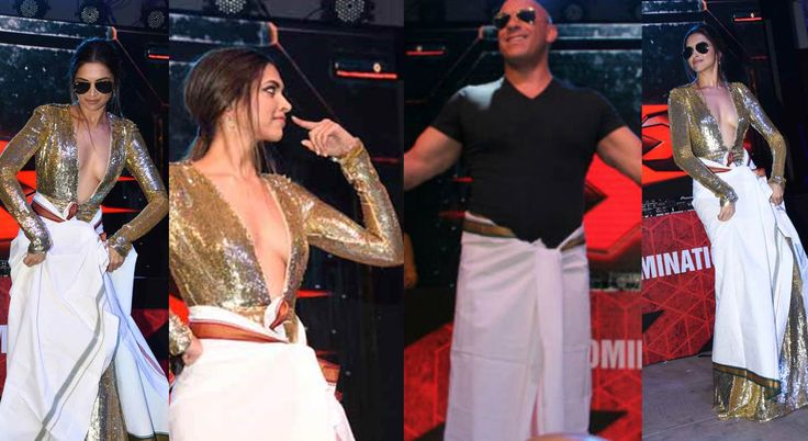 Deepika Padukone and Vin Diesel left an enduring impact on their fans amid the advancement of her Hollywood introduction movie 'XXX: Return of Xander Cage' on Thursday. She investigated every possibility while advancing her motion