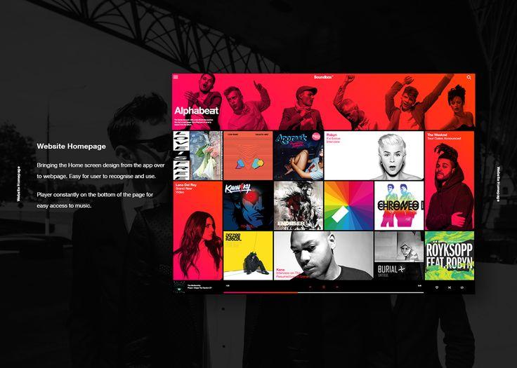 Vodafone Soundbox - Branding & UI/UX
