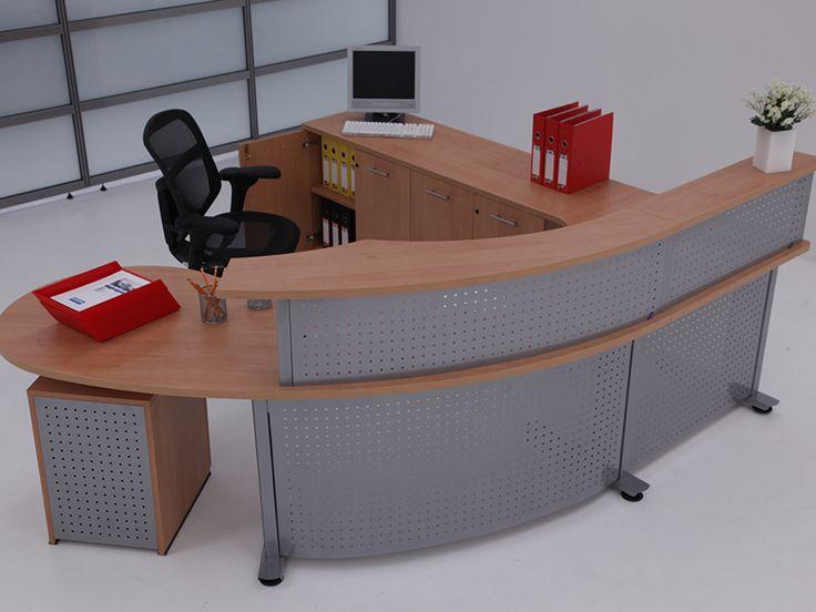 Recepción - Línea Metalika - Muebles para oficina - Poliarte