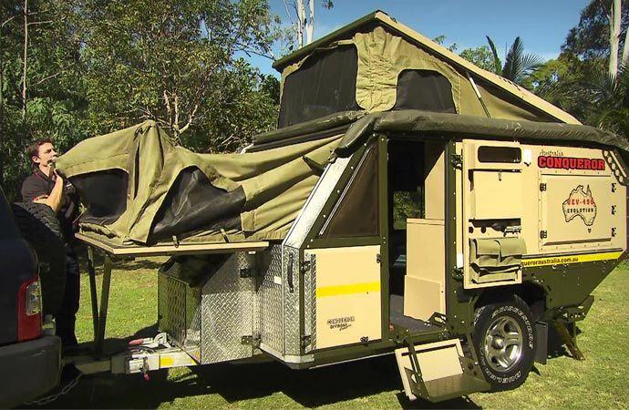 Conqueror UEV-440 off road trailer