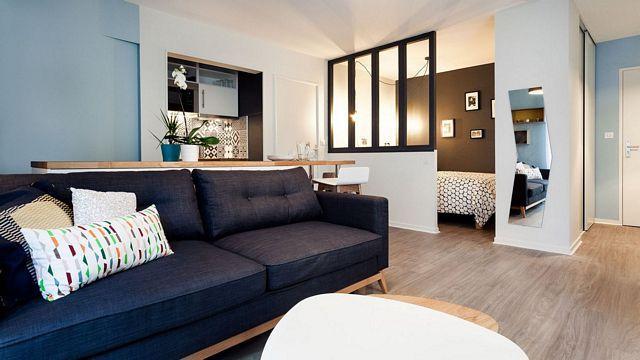An apartment of 32m² in Paris