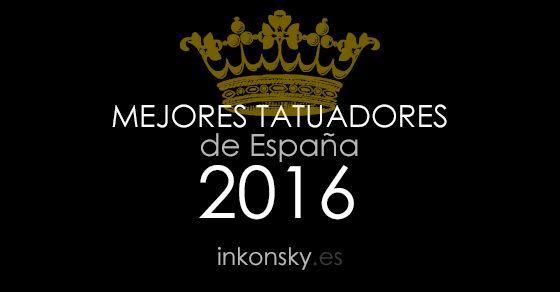 El ranking más completo de tatuadores localizados en España en 2016.