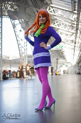 Daphne (Scooby-Doo) #cosplays  did this one in middle school, bbut i need to cosplay her again