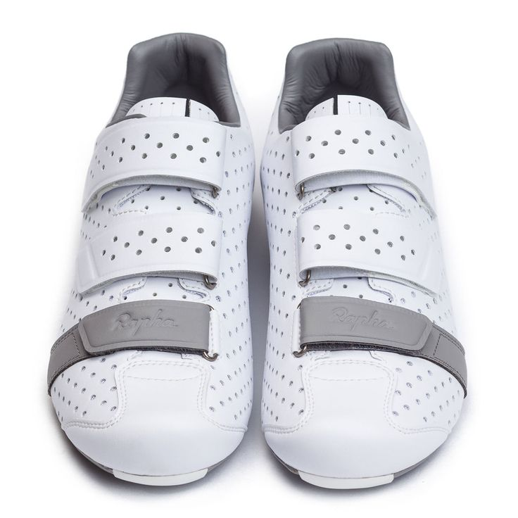 White things with holes in them. Rapha Climber's Shoes