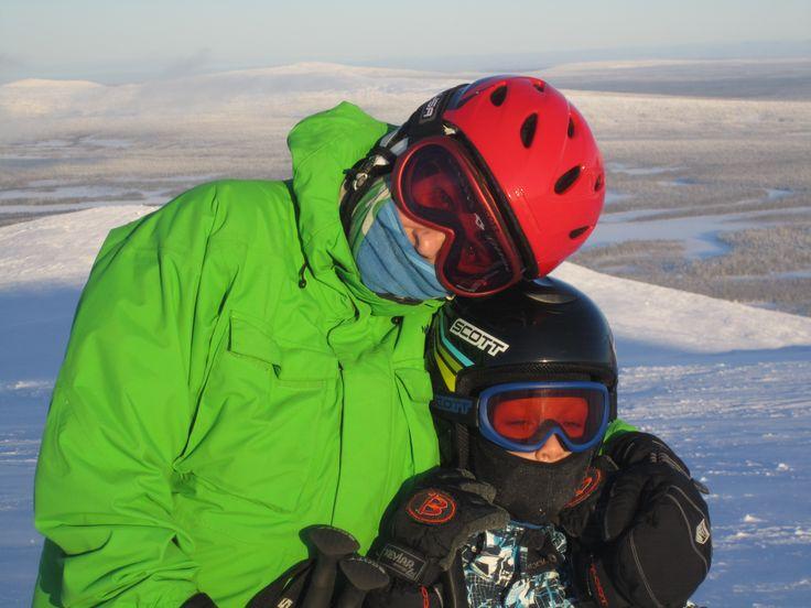 2012 Happy skiers