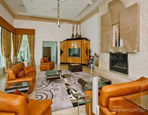 14 best images about my favourite luxury homes in nigeria for Living room decoration in nigeria