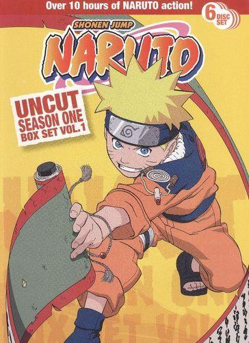 Naruto Uncut Box Set: Season One, Vol. 1 [6 Discs] [DVD]