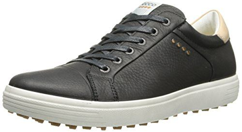 ECCO Men's Golf Casual Hybrid Scarpe da Golf, Uomo, Nero(Black 1001), 42