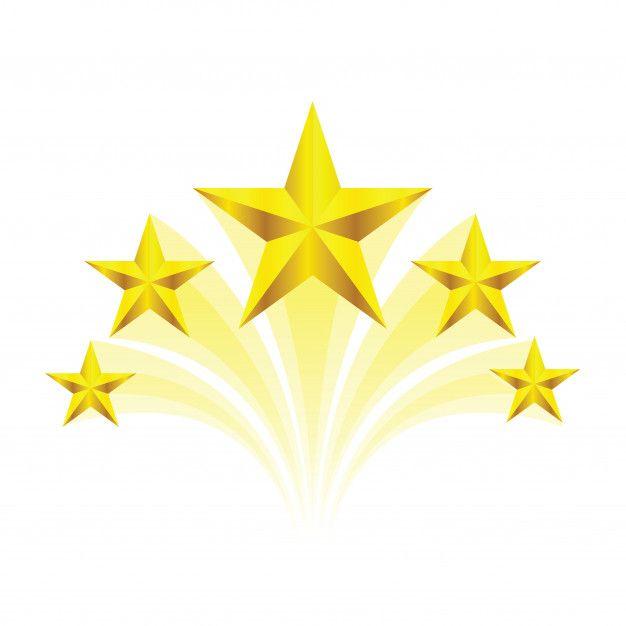 Swirl Golden Five Star Background Design Lightroom Presets Portrait Iphone Background Wallpaper