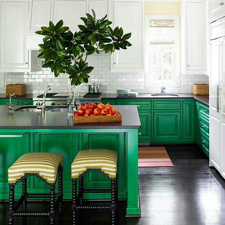 Elle decor green kitchen home home sweet home pinterest decor green kitchen and green Elle home decor pinterest