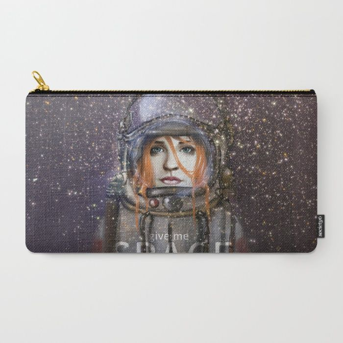 Give me Space (Girl) Carry-All Pouch