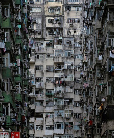 "Michael Wolf's ""Architecture of Density"" – remarkable photos detailing the architectural patterns of my home, Hong Kong."