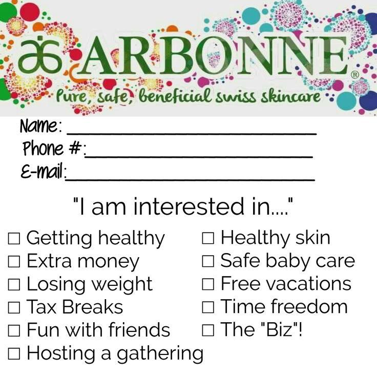 Arbonne ballot                                                                                                                                                                                 More
