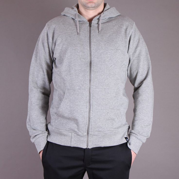 Szara bluza z kapturem Dickies Midland Gray Melange / www.brandsplanet.pl / #dickies streetwear