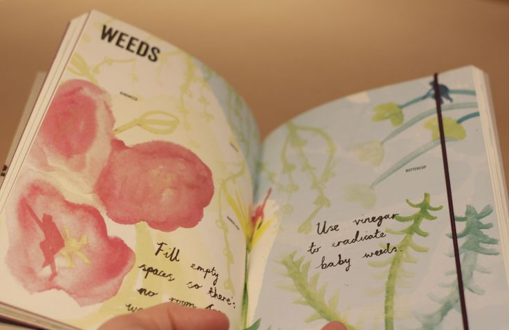 How can you not love gardening with this stunning Illustrated Gardening Journal?
