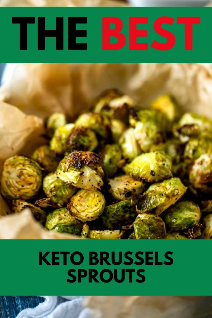 Keto Brussels Sprouts Air Fryer Or Oven Low Carb Gluten Free Kicking Carbs Recipe Brussel Sprouts Low Carb Thanksgiving Recipes Keto Recipes Easy