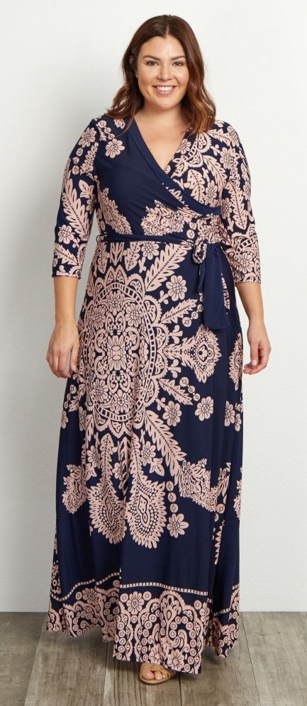 Plus Size Maxi Dress  Check out our amazing collection of plus size dresses at http://wholesaleplussize.clothing/