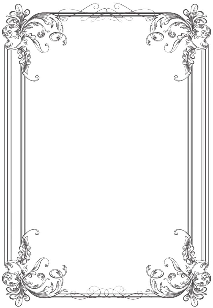 56 best borders images on pinterest borders and frames for Wedding invitation page borders free download
