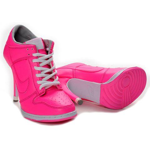 Nike High Heels Pink