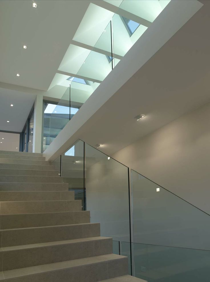 EnduroShield has been applied to this frameless glass railing in Maroubra, Sydney