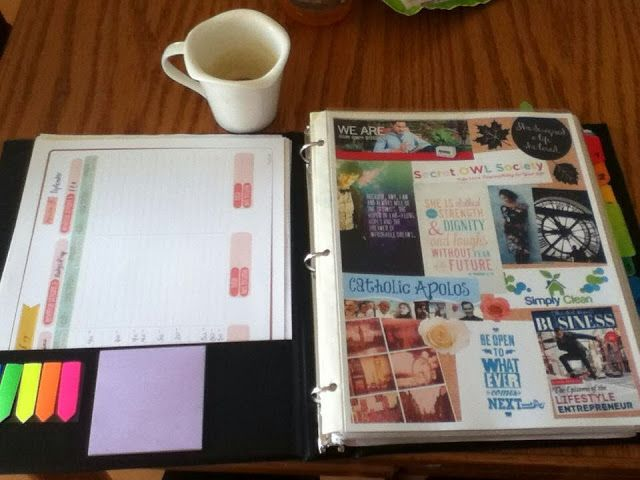 PicMonkey Dream Board in Life Binder