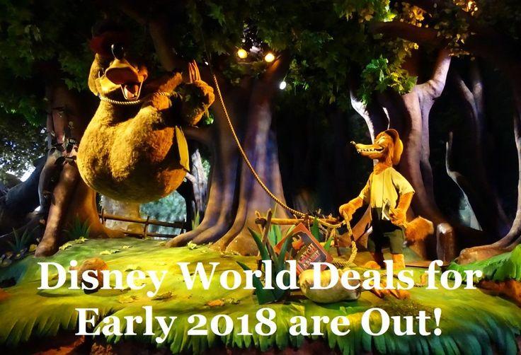 Disney world vacation deals may 2018