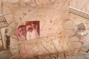 Wartime Sweethearts Pocket Cushion