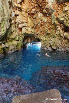 L'île de Mljet en photos -grotte d ulysse