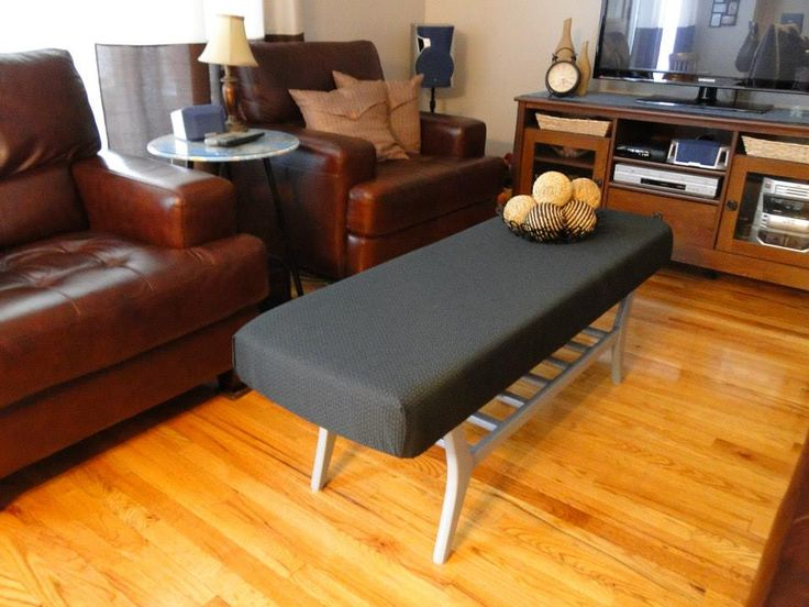 Covered Vintage Coffee Table