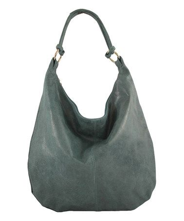 Look at this Roberta Rossi Petroleum Vintage-Wash Leather Hobo on today! c786294d1a