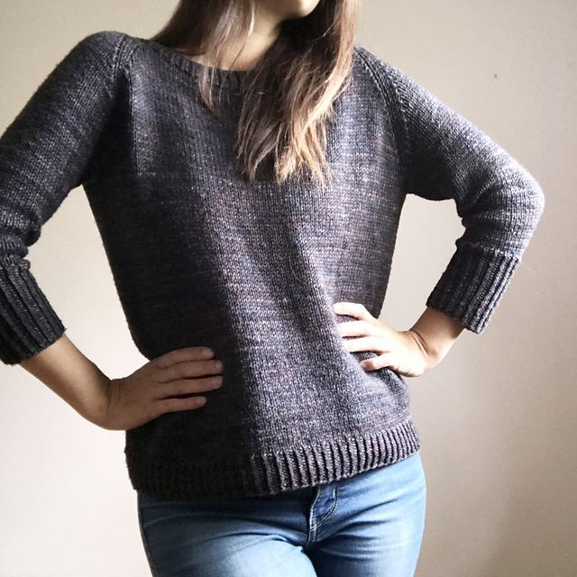 The Dunes pullover is the perfect solution to those chilly spring days, summer nights and crisp fall weather. It boasts a simple design for those in need of a little simplicity in life. It's wide neck and relaxed fit makes this pullover a perfect companion for sitting by the fire and knitting your next project.