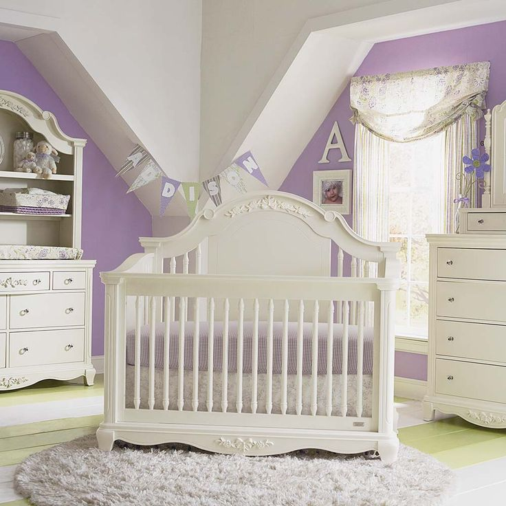 Addison 4 In 1 Stationary Crib By Bassett Nursery For Girl Pinterest Crib Nursery And