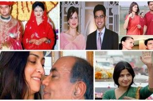 There are a number of Indian politicians who have glamorous wives. Though they may not be as popular as their husbands, they are enviable and have everything what it takes to compete with any Bollywood actress (no fun intended). Arvind and Sunita Kejriwal (AAP) ◄ Back Next ► Picture 1 of 12   Read More Updates of political news in...  Read More