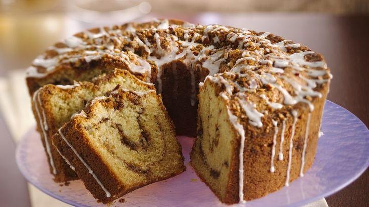 Classic Sour Cream Coffee Cake  http://www.bettycrocker.com/recipes/classic-sour-cream-coffee-cake/f94a8fa3-1f0b-47f4-afd2-010baa0ec473